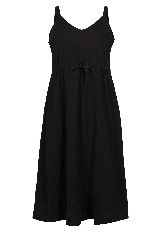 Femme MIT SMOCK - Robe longue