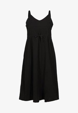 MIT SMOCK - Maxi šaty - black