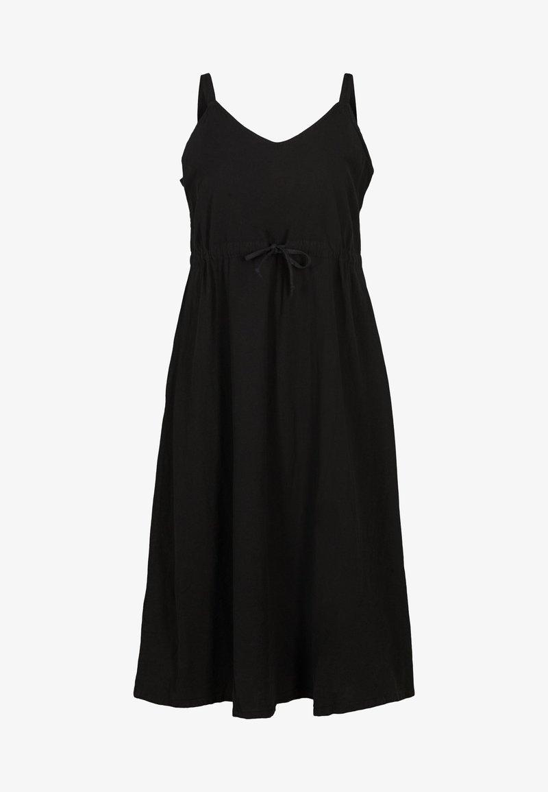 Zizzi - MIT SMOCK - Maxi dress - black