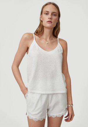 TEES ESSENTAILS TANK LOOSE FIT - Top - powder white