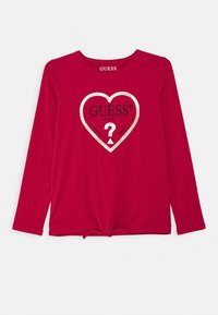 Guess - JUNIOR - Long sleeved top - disco pink - 0