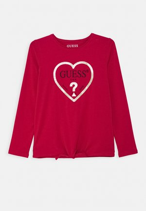 JUNIOR - Long sleeved top - disco pink