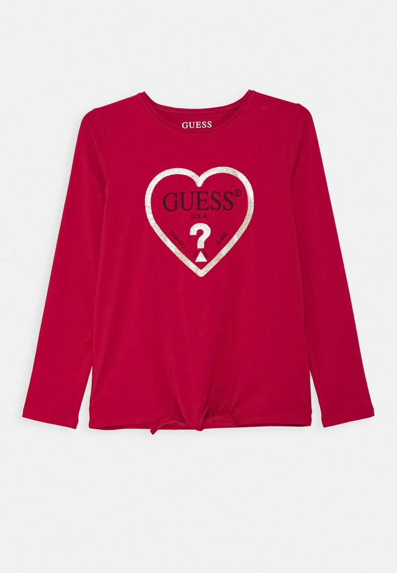 Guess - JUNIOR - Long sleeved top - disco pink