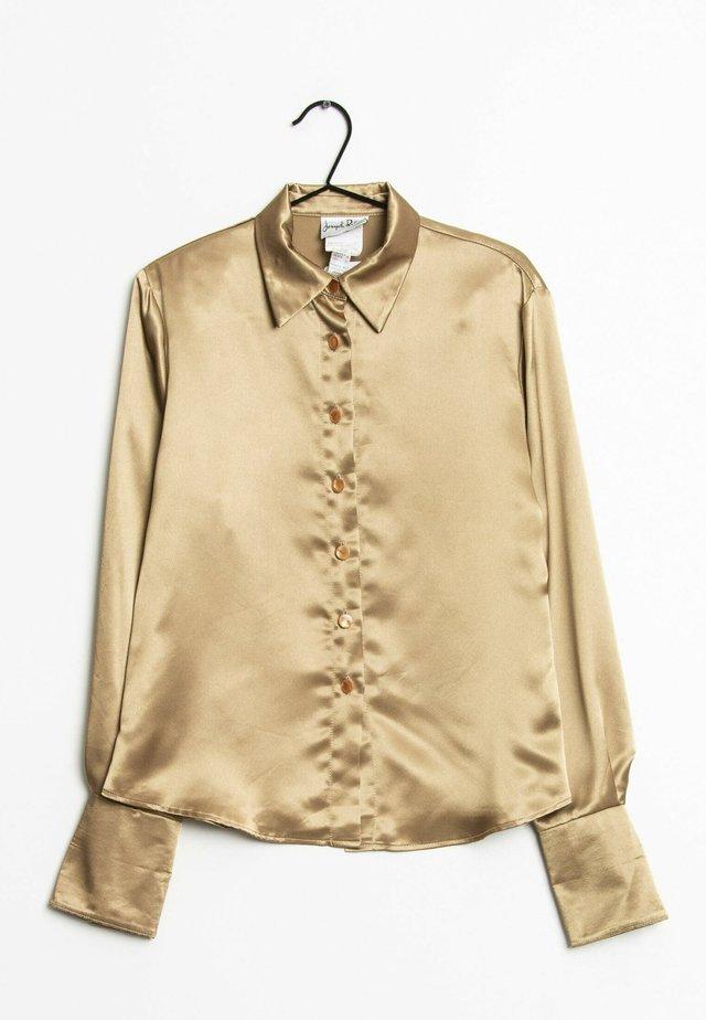 Overhemdblouse - gold