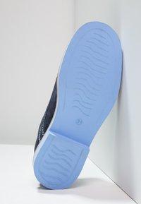 Friboo - LEATHER - Šněrovací boty - dark blue - 4