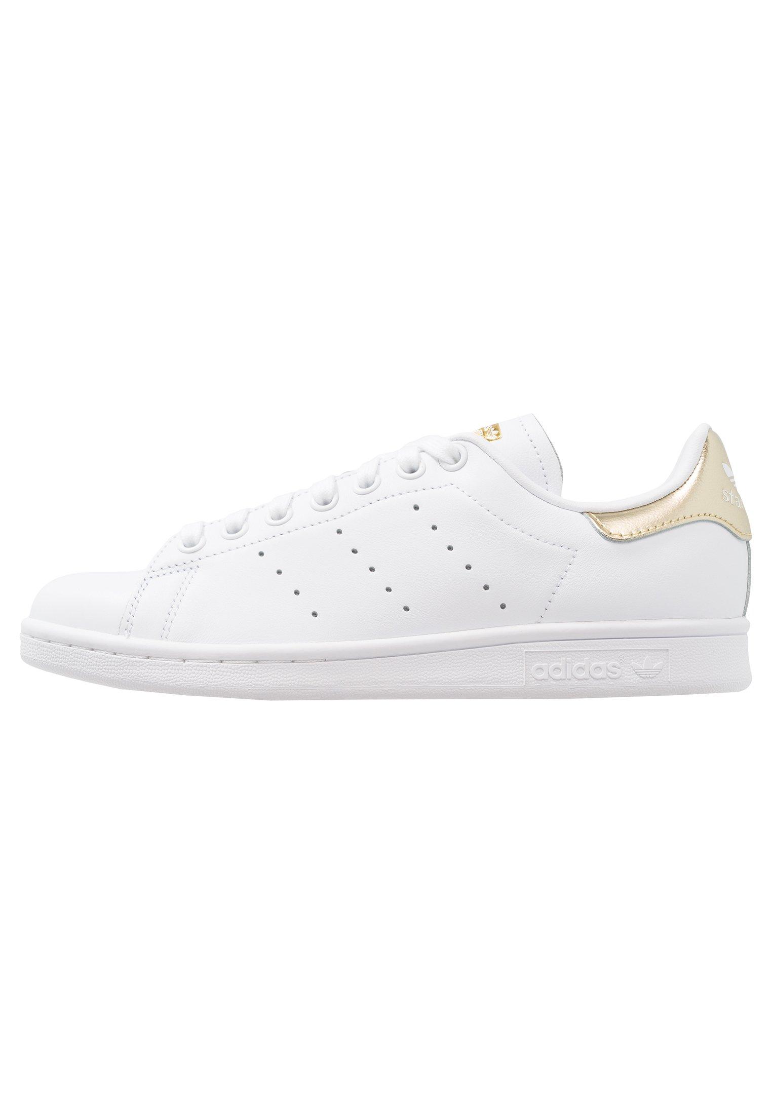 Adidas Originals Stan Smith - Sneaker Low Footwear White/gold Metallic/weiß