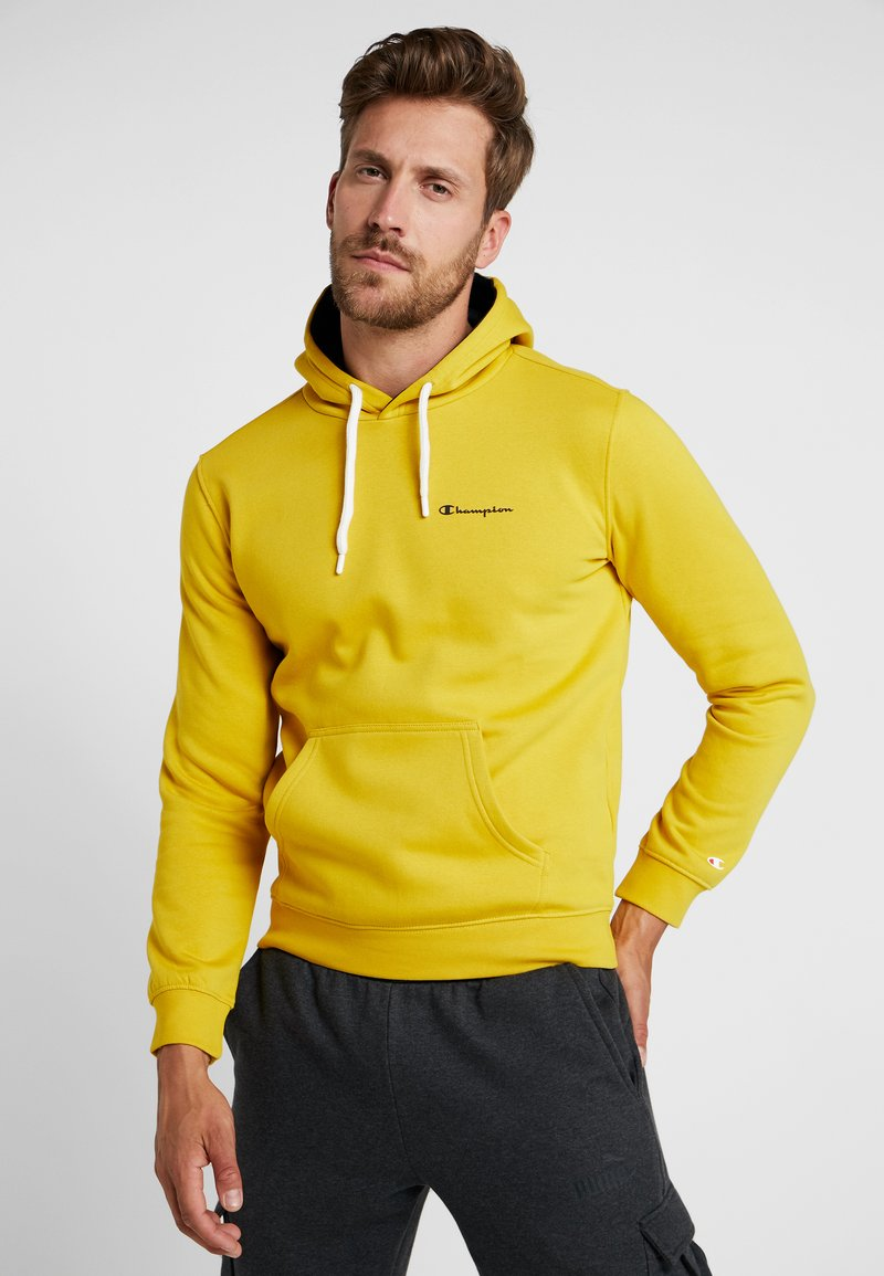 Champion - HOODED - Huppari - mustard yellow