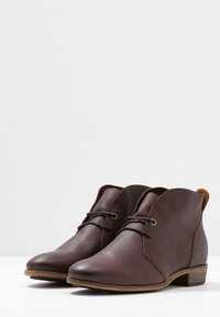 HUB - CHUCKIE - Ankle boots - dark brown - 4