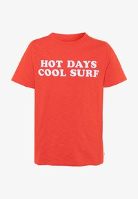 GAP - BOY FRONT BACK TEE - Camiseta estampada - hot coral - 0
