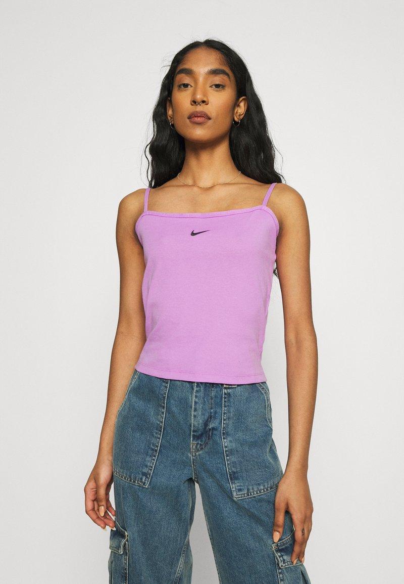 Nike Sportswear - TANK  - Top - violet shock/black