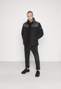 Calvin Klein - OPTIC MIX JACKET - Winter jacket - grey - 1