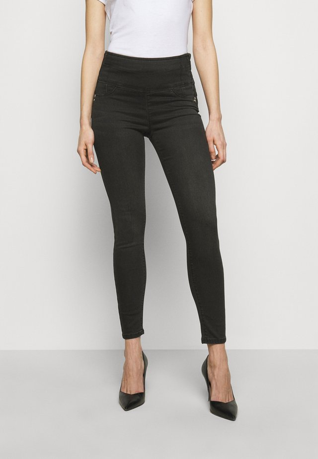 PANTALONI - Jeans Skinny - washed deep black