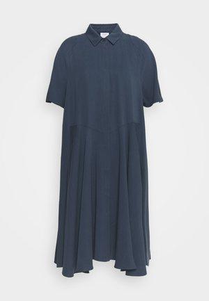 SHIRTDRESS - Shirt dress - blue