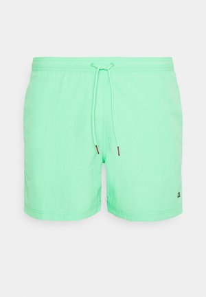 SOLID MEDIUM DRAWSTRING - Swimming shorts - green