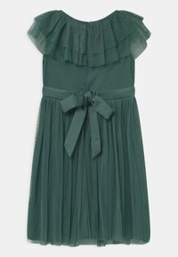 Anaya with love - RUFFLE BIB WITH BOW - Cocktail dress / Party dress - jade green - 1