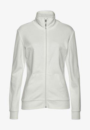 Training jacket - ecru
