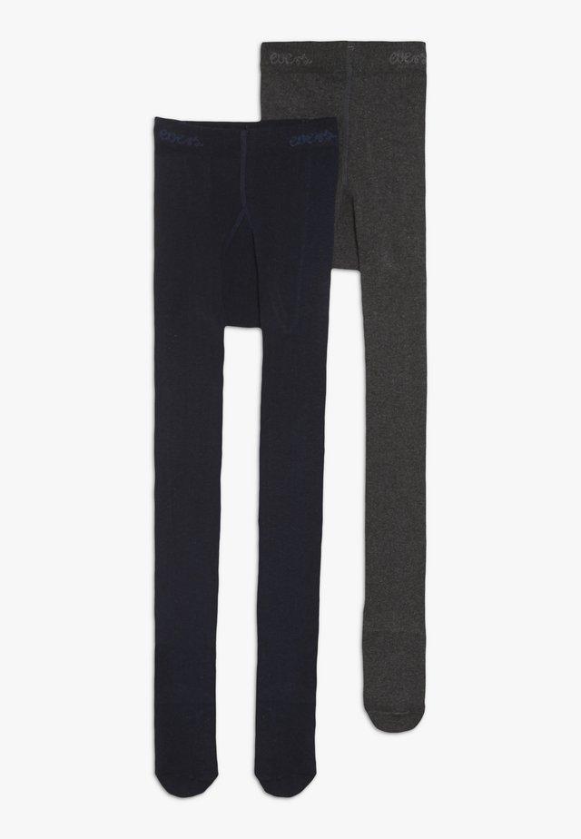 2 PACK - Panty - anthrazit/marine