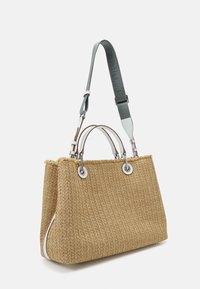 Emporio Armani - CAPSULE MYEABORSA SHOPPING - Handbag - natural/white - 2