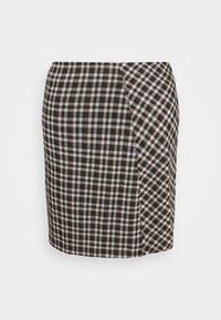 Pieces - PCSILVIA SKIRT - A-line skirt - mole/jadeite - 0