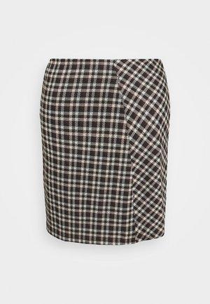 PCSILVIA SKIRT - A-line skirt - mole/jadeite