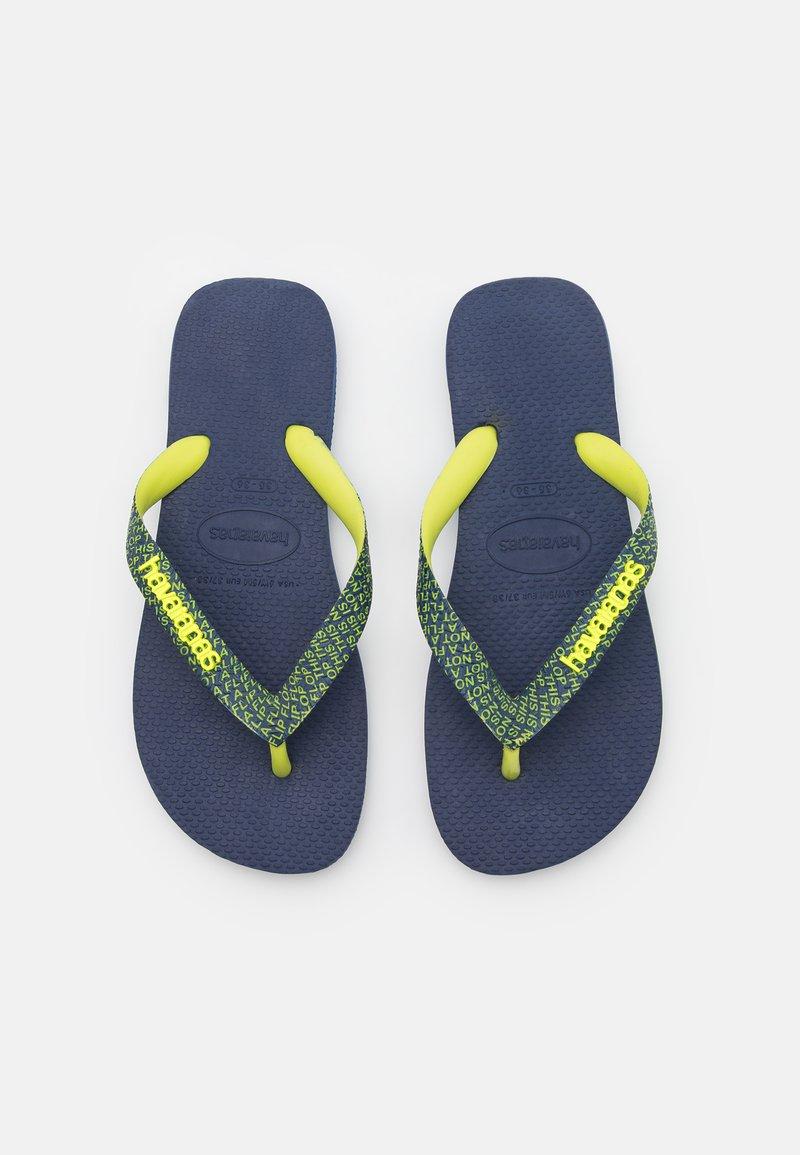 Havaianas - TOP BOLD UNISEX - T-bar sandals - navy blue