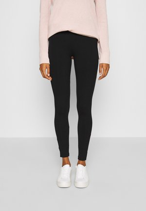BASIC - Leggings - Trousers - true black