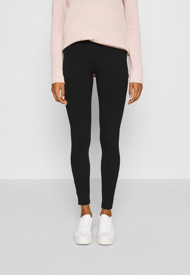 BASIC - Leggings - true black
