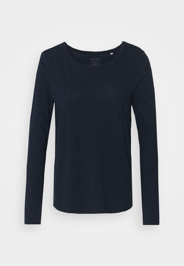 LONG SLEEVE ROUND NECK - Langærmede T-shirts - dark night