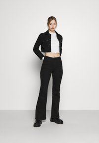 Monki - BLAZE 2 PACK - Maglietta a manica lunga - lilac/white - 0