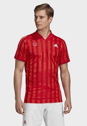 T-shirt z nadrukiem - red