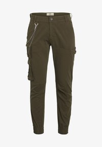 Redefined Rebel - Cargo trousers - dark olive - 3