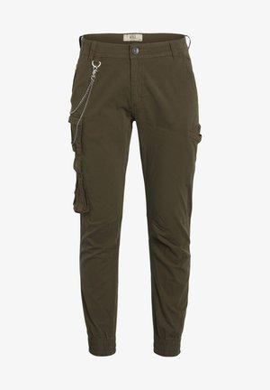 Pantaloni cargo - dark olive