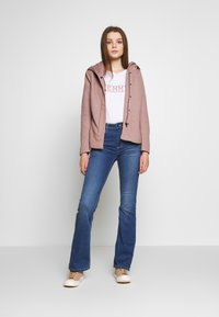 ONLY - ONLSEDONA LIGHT SHORT JACKET - Summer jacket - mocha mousse/melange - 1