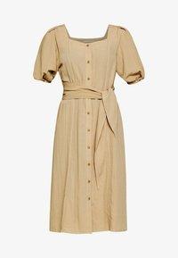 PCROSALI MIDI DRESS - Shirt dress - warm sand