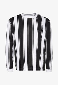 Another Influence - VERTICAL STRIPE PLUS - Long sleeved top - grey/white - 4