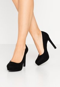 Even&Odd - Zapatos altos - black - 0