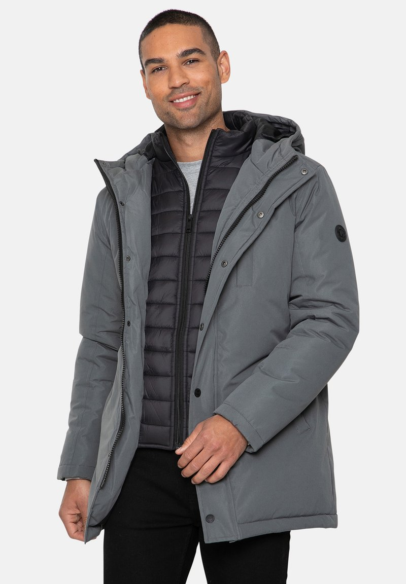 Threadbare - Winter jacket - charcoal