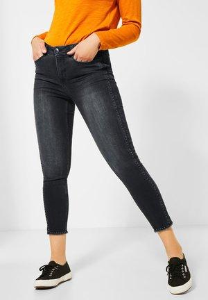 NIETEN-GALON - Slim fit jeans - schwarz