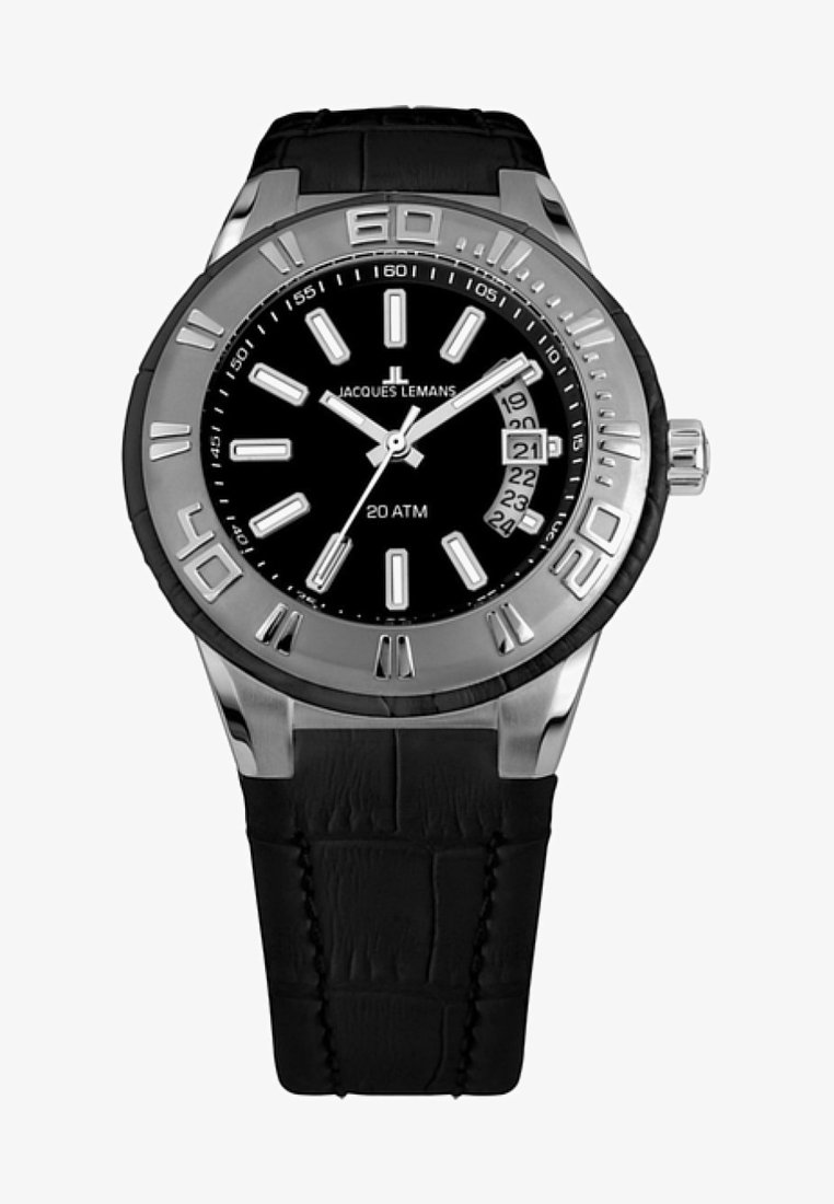 Jacques Lemans - Watch - black