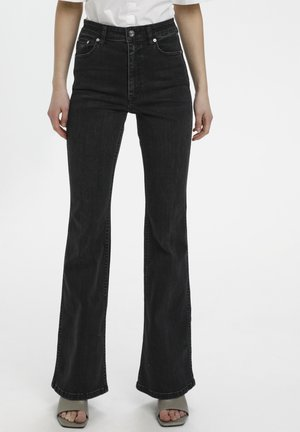 Bootcut jeans - washed grey