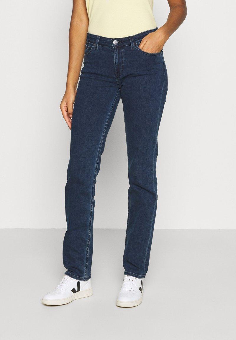 Lee - MARION - Straight leg jeans - dark joni