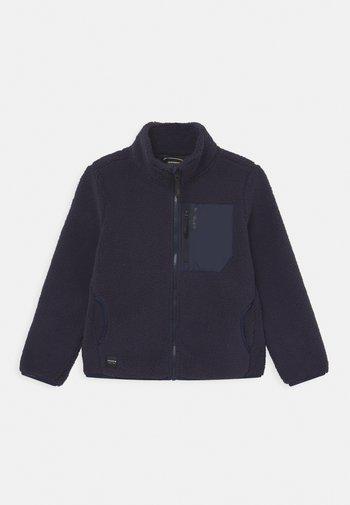 KAPAAU JR UNISEX - Fleece jacket - dark blue