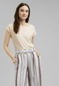 edc by Esprit - BACKTIE - Basic T-shirt - nude - 0