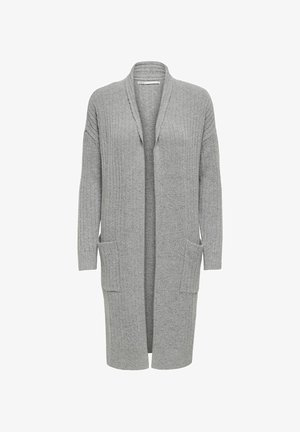 ONLMEKIA - Cardigan - light grey melange