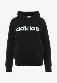 adidas Performance - ESSENTIALS LINEAR SPORT HODDIE - Hoodie - black
