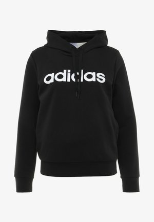 ESSENTIALS LINEAR SPORT HODDIE - Hoodie - black