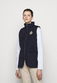 Lauren Ralph Lauren - VEST - Waistcoat - black - 0