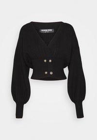 Fashion Union Tall - MEEKER - Cardigan - black - 0