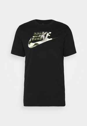 TREND SPIKE - Print T-shirt - black