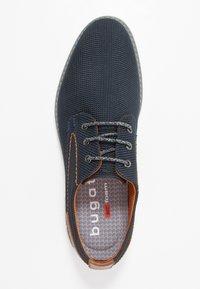 Bugatti - SANDMAN - Casual lace-ups - dark blue/cognac - 1